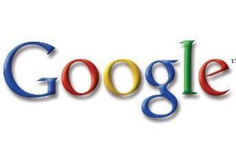 Le logo de Google...