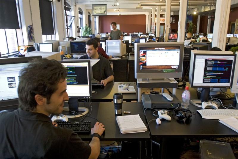 Les bureaux d'Ubisoft à Montréal... (La Presse)