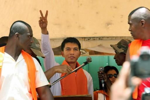 Andry Rajoelina... (Photo: AFP)