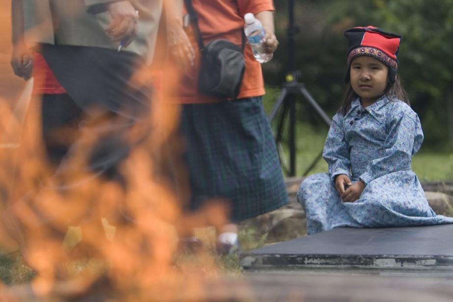 Les droits des membres des Premières nationas ont... (Photo: David Boily, La Presse)
