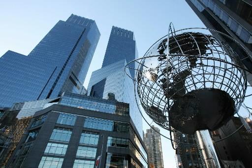 Le Time Warner Center à New York...