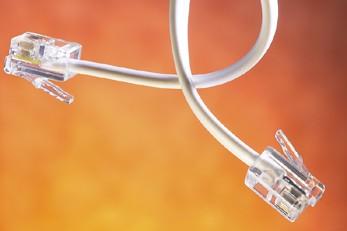 Un câble Internet... (Photo: Photothèque La Presse)