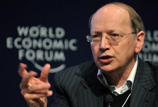 Ben Verwaayen, chef de la direction d'Alcatel-Lucent... (Photo: Agence France-Presse)