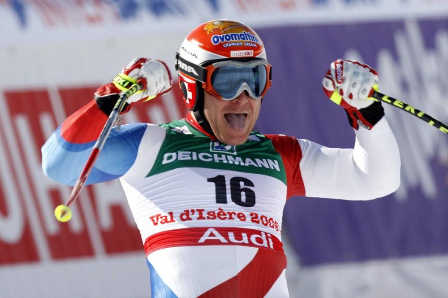 Didier Cuche... (Photo: AP)
