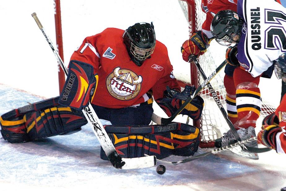 L'équipe de hockey les Titans d'Acadie-Bathurst envisage une... (Photo: PC)