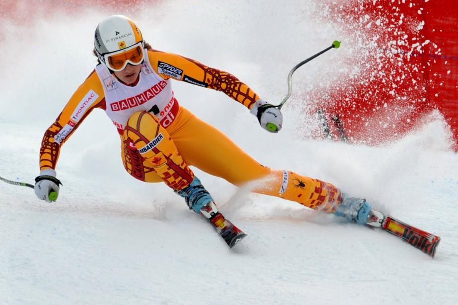 Britt Janyk... (Photo: AFP)