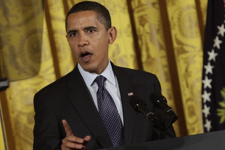 Le président Obama a pressé mercredi le Congrès... (Photo: AP)