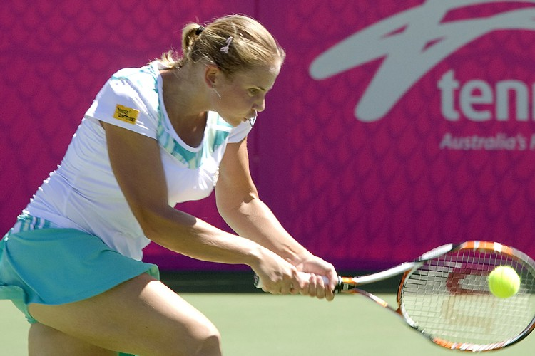 Jelena Dokic a défait Lee Jin-A 6-0, 6-3.... (Photo: AFP)