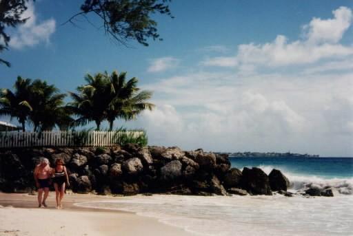 La Barbade, un endroit très apprécié de ceux... (Photo: La Presse Canadienne)