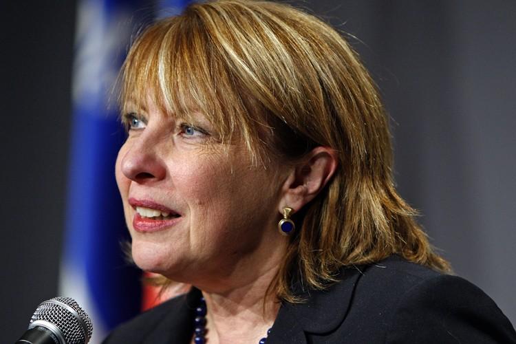 La ministre de la Culture, Christine St-Pierre... (Photo: Robert Mailloux, La Presse)