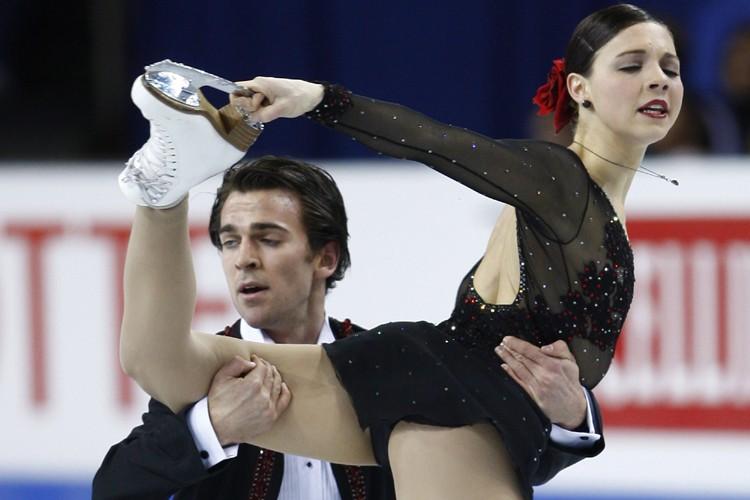 Bryce Davison et Jessica Dubé ont terminé la... (Photo: PC)