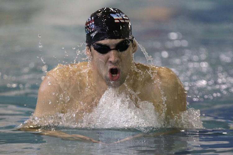 Michael Phelps... (Photo: AP)