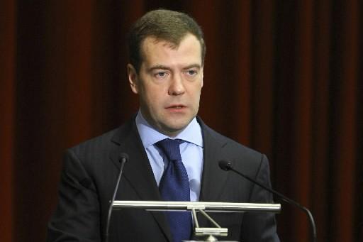 Dmitri Medvedev... (Photo: Reuters)