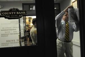 County Bank, basée à Merced en Californie, détenait... (Photo: AP)