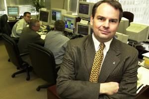 Benoît Durocher, vice-président exécutif et chef stratège économique... (Photo: Robert Mailloux, Archives La Presse)