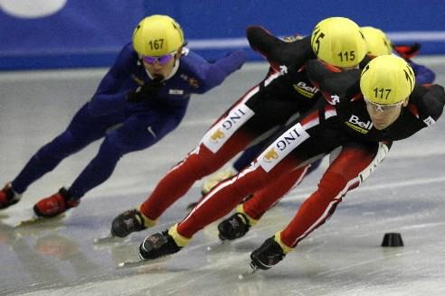 François-Louis Tremblay a dominé une partie du 1000... (Photo: Reuters)