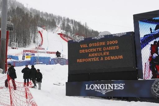 La descente dames et l'entraînement des hommes aux Mondiaux de ski... (Photo: AP)