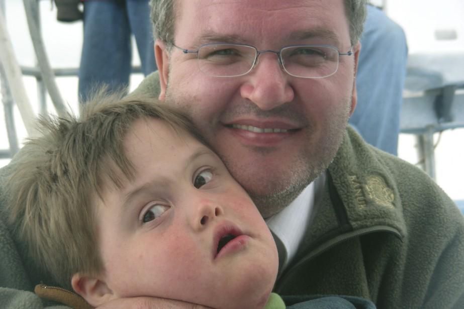 Sylvain Fortin et son fils, Mathieu.... (Photo fournie par l'auteur)