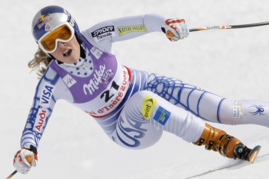 Lindsay Vonn... (Photo: Reuters)