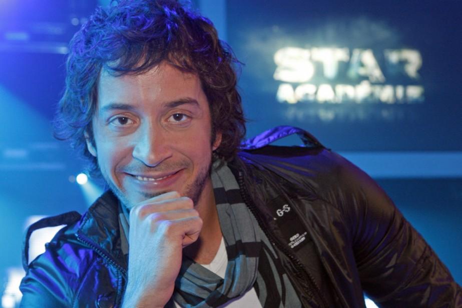 Jean-Pier Gravel anime la quotidienne de Star Académie.... (Photo: Robert Mailloux, La Presse)