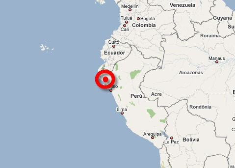 Un puissant séisme de magnitude 6,1 s'est produit lundi près des côtes...