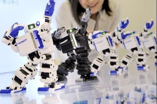 «I-Sobot» de la société Takara-Tomy: le plus petit... (Photo: AFP)