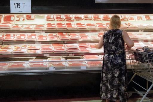 Un kilogramme de boeuf haché... (Photo: Patrick Sanfaçon, archives La Presse)
