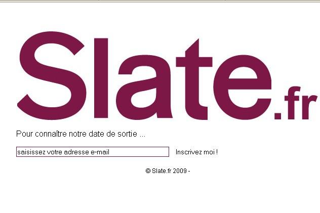 Le site slate.fr...