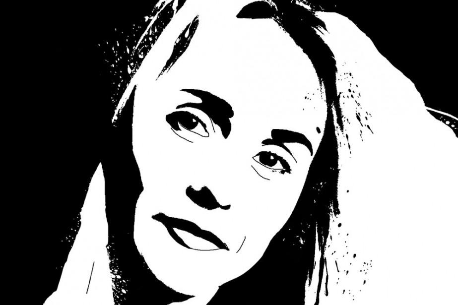 Marie-Sissi Labrèche me... (Illustration: Francis Léveillée, La Presse)