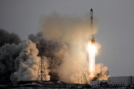 Décollage du vaisseau Progress M-66 du cosmodrome de... (Photo: Reuters)