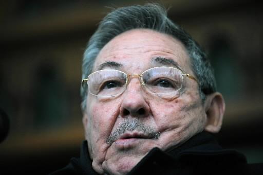 Raul Castro... (Photo: AFP)