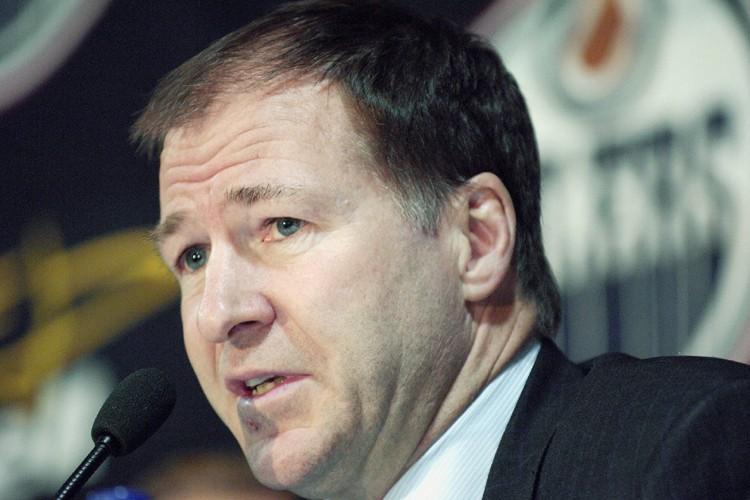 Le président des Oilers d'Edmonton, Kevin Lowe... (Photo: PC)