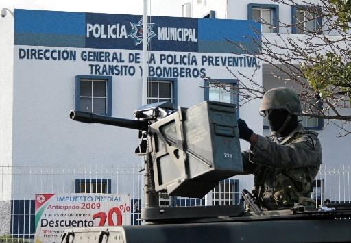 L'armée mexicaine a pris le contrôle de la... (Photo: AFP)