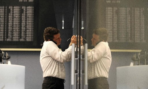 L'indice phare de la Bourse de Toronto, le S&P/TSX, gravite... (Photo: Reuters)