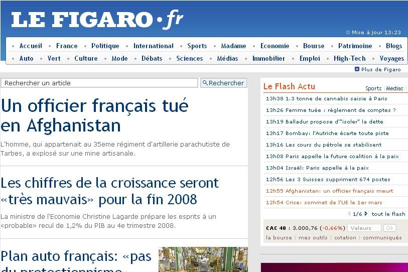 Le site du Figaro...