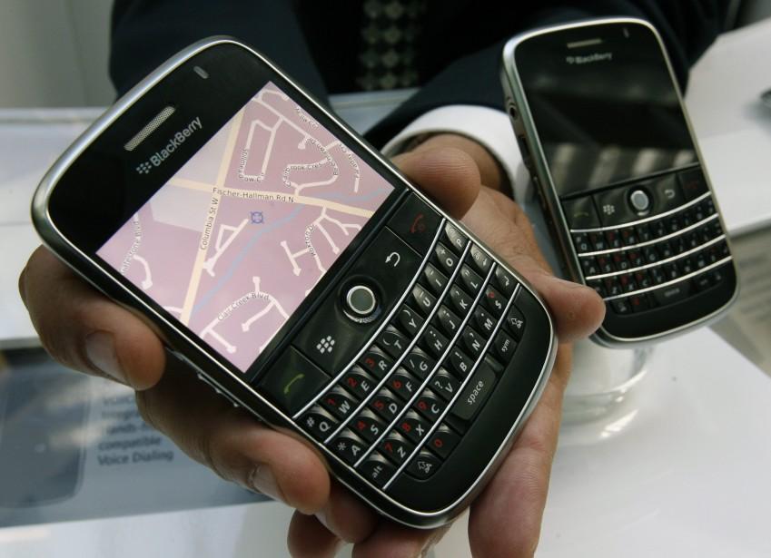 Le fabricant du téléphone multifonctions BlackBerry prévoit... (Photo: Reuters)