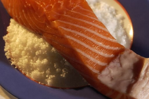 Le saumon du mercredi (Photo: Alain Roberge, La Presse)