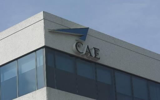 Les bureaux de CAE à Côte-de-Liesse... (La Presse)