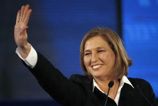 Tzipi Livni... (Photo: Reuters)