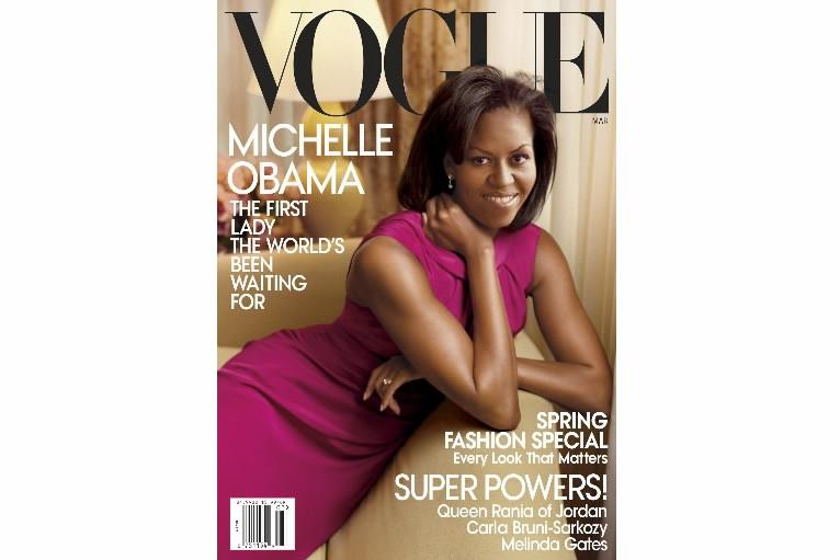 La couverture de Vogue États-Unis est consacrée en mars à Michelle...
