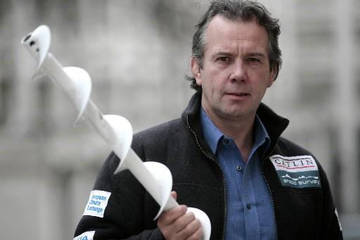 Le britannique Pen Hadow... (Photo : AP)