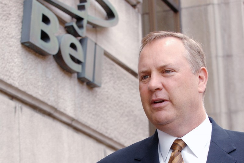 George Cope, PDG de Bell Canada...