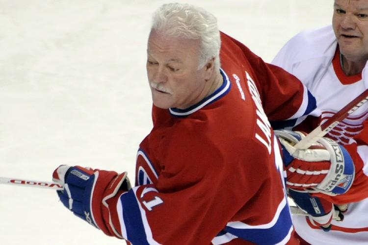 Yvon Lambert est un des anciens joueurs du... (Photo: Bernard Brault, La Presse)