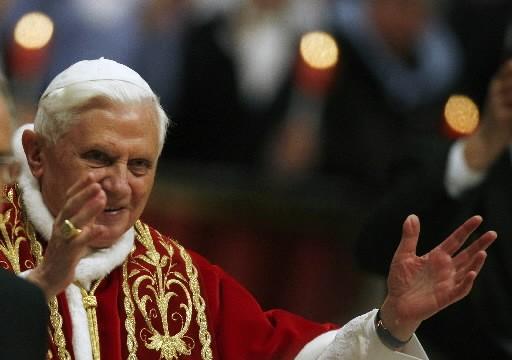 Benoît XVI... (Photo: Reuters)