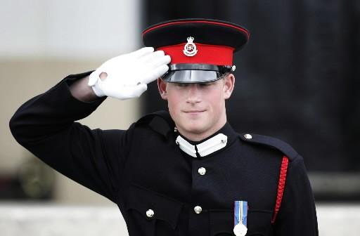 Le prince Harry... (Photo : AP)