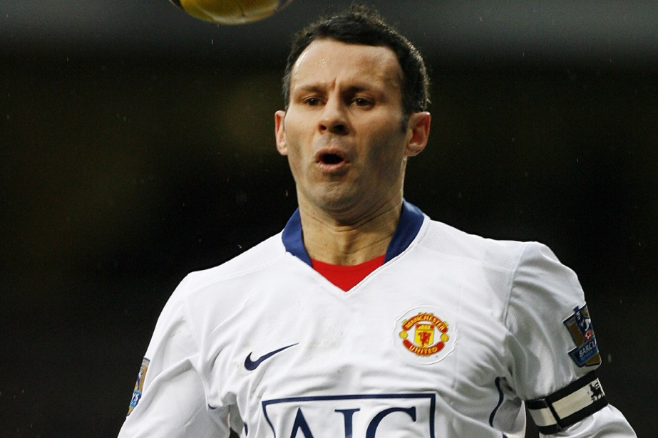 Ryan Giggs... (Photo: AFP)