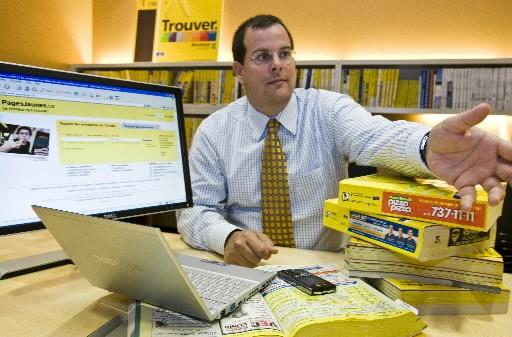 Marc Tellier, PDG de Yellow Média.... (Photo: Rémi Lémée, La Presse)