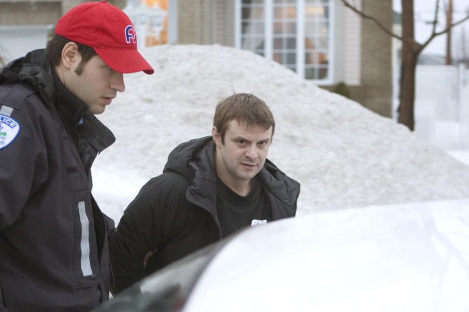 Jean Lavertu a été arrêté à son domicile... (Photo: Ivanoh Demers, La Presse)