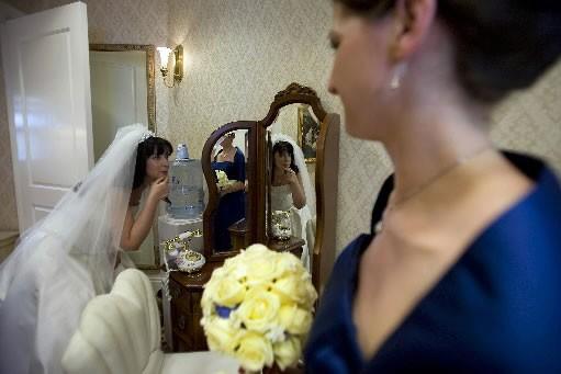 """Aux États-Unis, les mariages """"clés en main"""" font de... (Photo: AFP)"""
