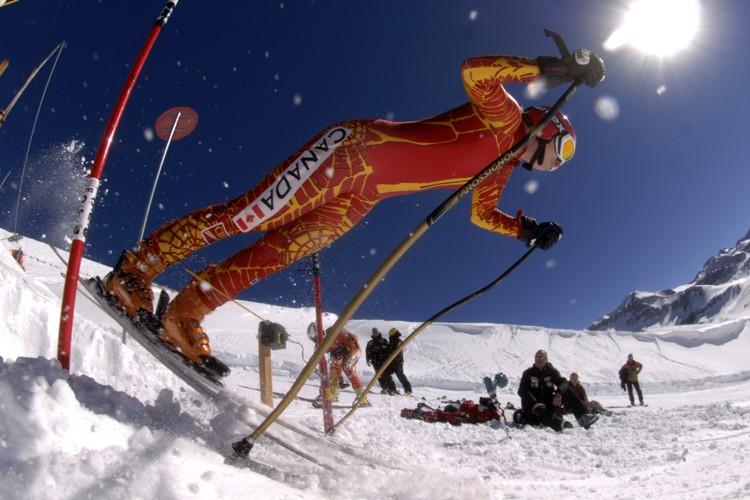 Geneviève Simard connait un hiver difficile après avoir... (Photo: Bernard Brault, La Presse)